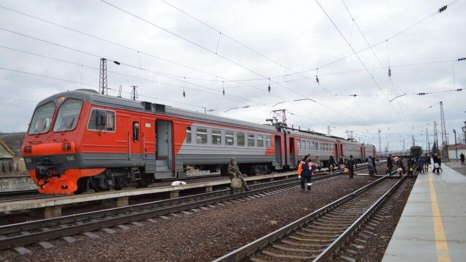 В Воронежской области из-за ремонта железной дороги изменится расписание 2 электричек
