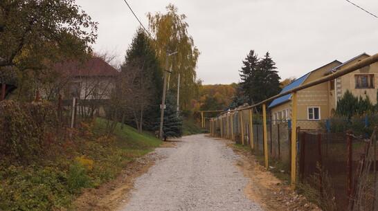 В хохольском селе Костенки на 9 улицах отремонтируют дороги