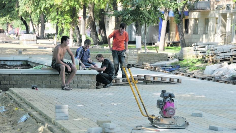 Участок улицы Карла Маркса в Воронеже реконструируют