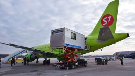 Воронежский аэропорт оборудовали амбулифтом для инвалидов