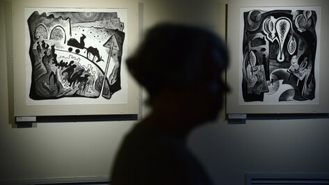 В музее Крамского открылась выставка гравюр о Воронеже и Марокко