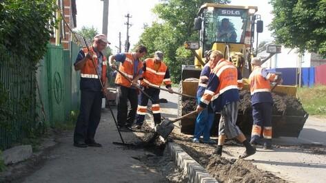 В Нижнедевицке капитально отремонтируют  магистральную улицу