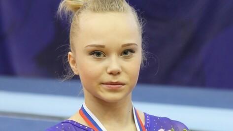 Воронежская гимнастка стала чемпионкой Европы