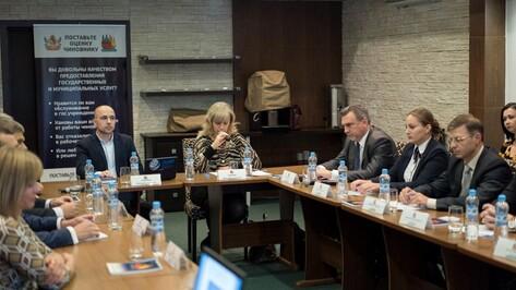 В Воронеже обсудили механизмы снижения административных барьеров для предпринимателей