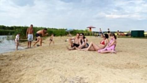 В лискинском селе Средний Икорец обустроили новый пляж