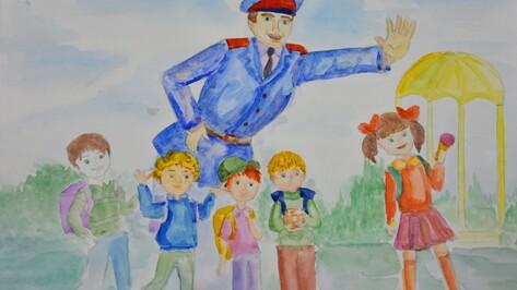 Рисунок воронежского школьника попал на общероссийский конкурс