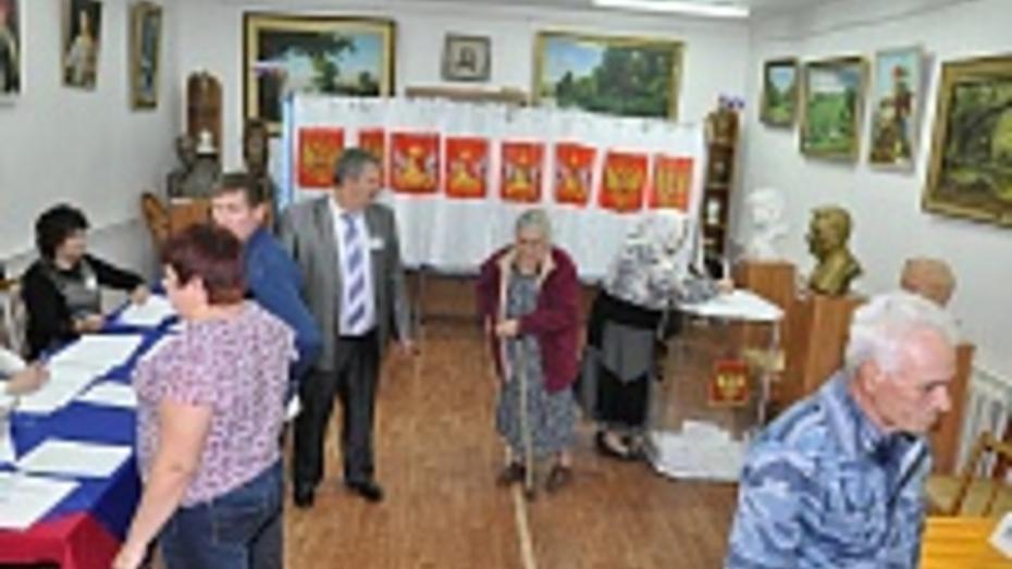 В Эртильском районе на выборах губернатора проголосовало 77, 27% избирателей