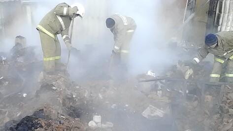 В воронежском селе при пожаре погиб 74-летний пенсионер
