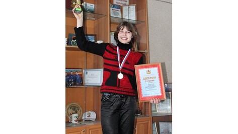 Панинскую школьницу назвали самой сильной девочкой Воронежской области