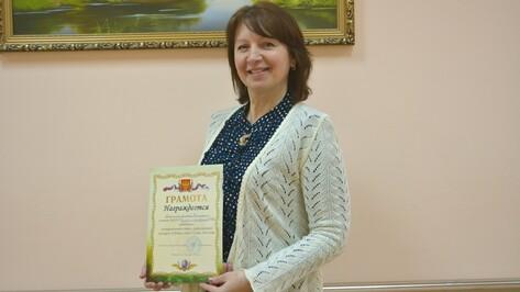 В Петропавловском районе лучшим учителем года стала Эляна Небогина