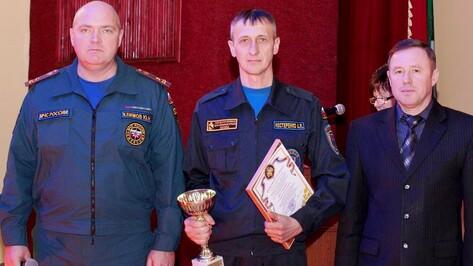 Пожарные богучарского села Монастырщина стали лучшими в области