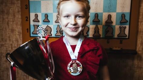 Первоклассница из Воронежа представит Россию на ЧМ по шахматам среди школьников