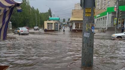 За 3 дня в Воронеже выпало больше месячной нормы осадков