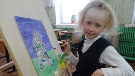 Таловская школьница стала призером областного конкурса рисунков