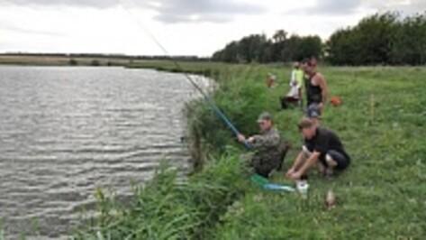 В Эртильском районе прошли соревнования по рыбной ловле
