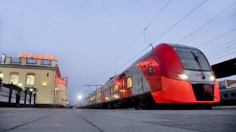 Скоростной электропоезд «Ласточка» совершил технический рейс из Воронежа в Ростов