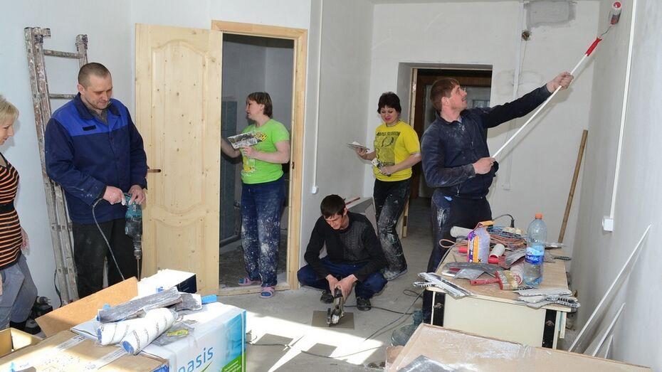 В Грибановской районной больнице спонсоры приступили к ремонту палат
