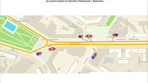 Ночью в Воронеже перекроют улицу в центре