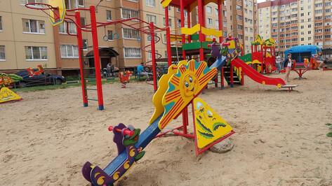 Прокуратура потребовала отремонтировать детскую площадку под Воронежем