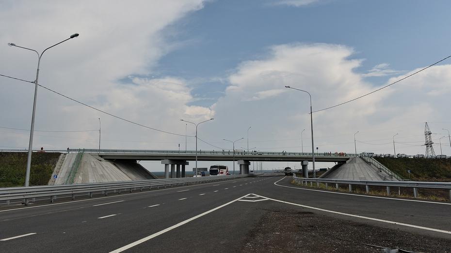 Трасса М-4 в Воронежской области станет дорогой первой категории