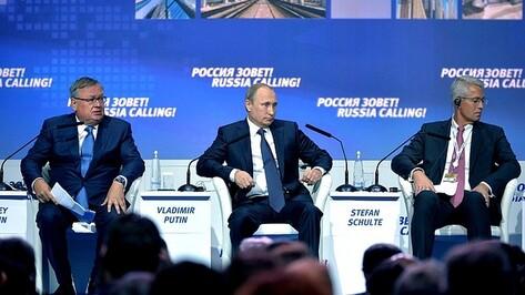 Экономика России достигла пика кризиса
