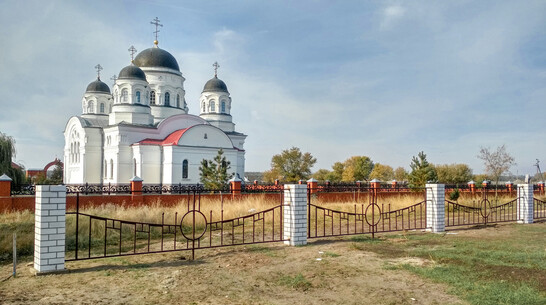 В лискинском селе Масловка сделали ограждение для будущего парка имени адмирала Ушакова