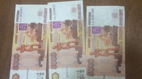 В Воронежской области полицейские задержали пару фальшивомонетчиков