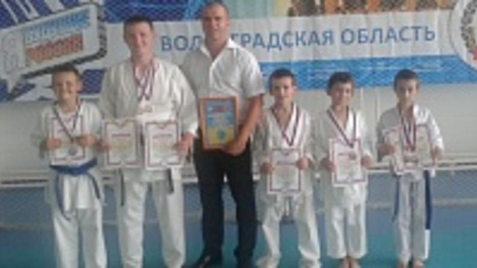 Хохольские спортсмены заняли призовые места на всероссийском турнире по каратэ