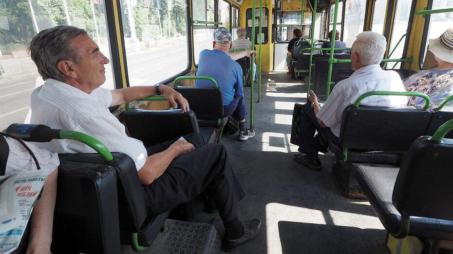 Первые маршруты общественного транспорта выставили на торги в Воронеже
