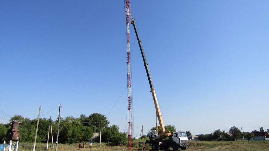 В воробьевском селе Солонцы появились устойчивая сотовая связь и интернет