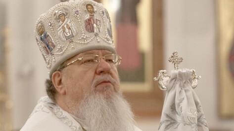 Митрополит Воронежский и Лискинский Сергий поздравил жителей области с Рождеством