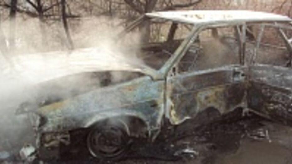 В Россошанском районе сгорела «четырнадцатая»