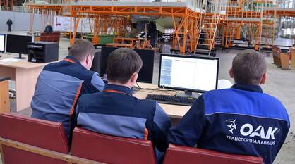 На Воронежском авиазаводе рассказали о ходе строительства пассажирского Ил-96-400М