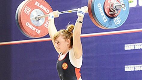 Воронежская спортсменка стала призером Кубка России по тяжелой атлетике