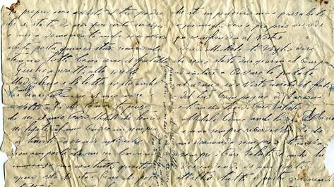 В Богучарском районе при рытье траншеи нашли неотправленное письмо итальянского солдата