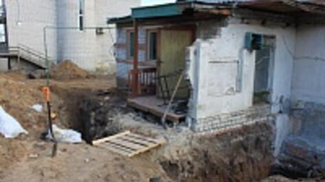 В Воронеже строители нашли останки бойца Красной армии