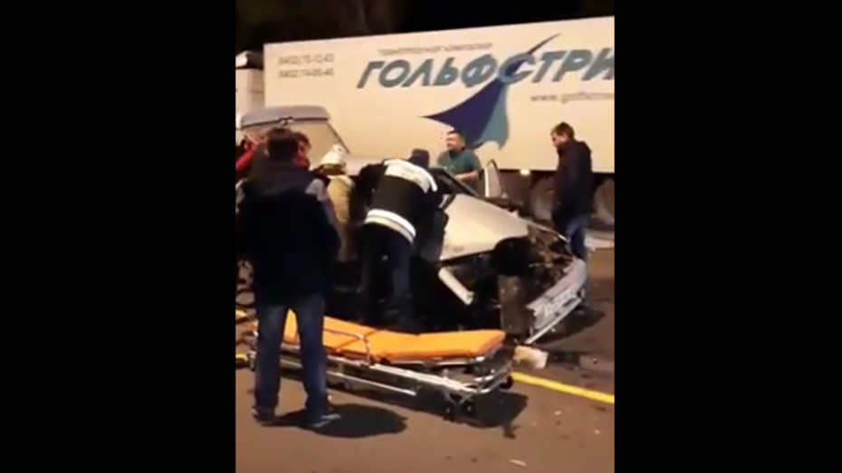 МВД об аварии с 2 пострадавшими в Воронежской области: за рулем мог быть брат полицейского