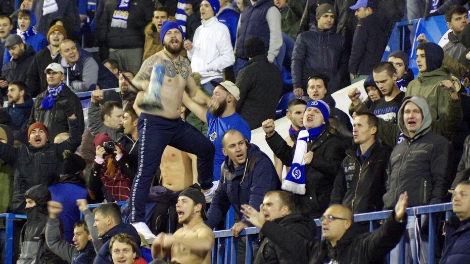 Болельщики «Динамо» потребовали наказать полицейского после матча в Воронеже