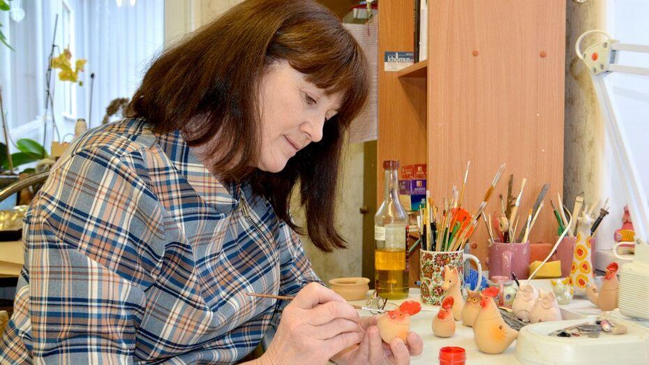Жительница Калача стала «народным мастером России»