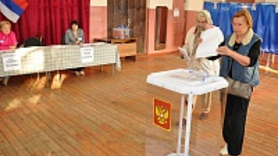 В Эртильском районе на выборах губернатора Воронежской области Алексей Гордеев набрал 89,67 %