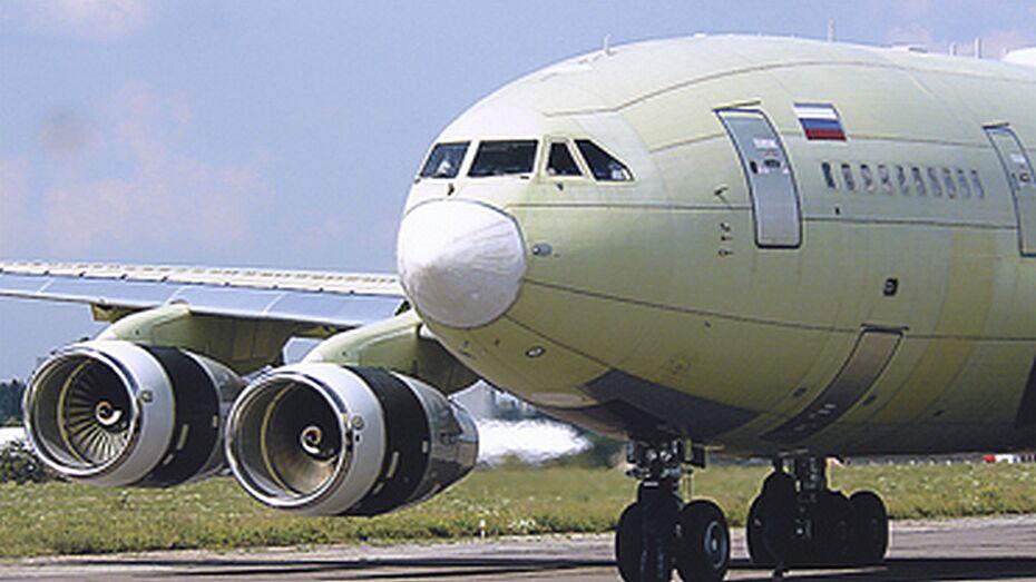 Два самолета Ил-96 воронежского производства пополнят президентский авиаотряд