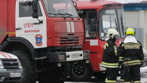 Воронежца госпитализировали после пожара в квартире