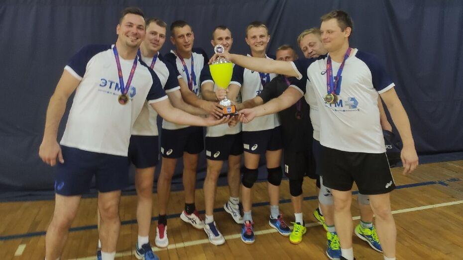 Рамонские волейболисты впервые стали чемпионами любительской волейбольной лиги
