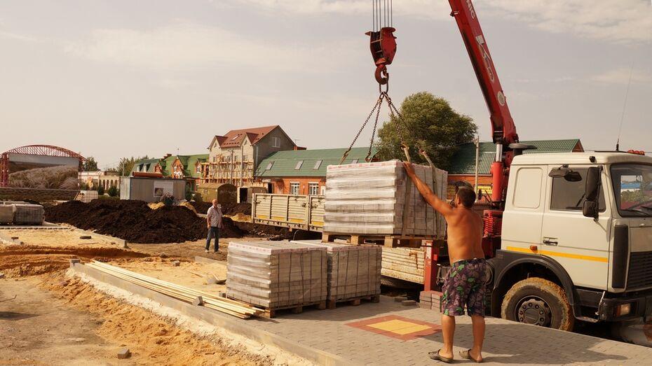 В Богучаре на благоустройство набережной выделили более 11 млн рублей