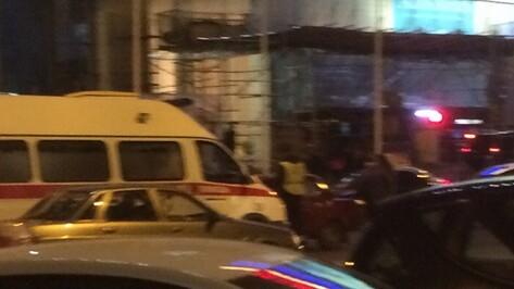 Водитель «семерки» разбился о припаркованные машины в центре Воронежа