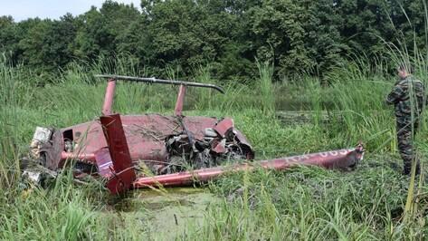 Следователи начали проверку по факту жесткой посадки вертолета под Воронежем