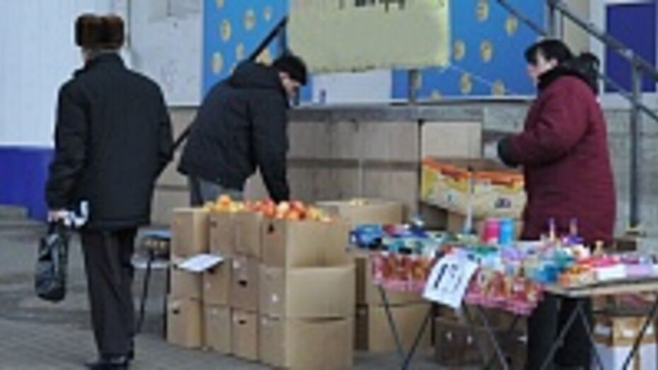 В Воронеже за год 102 продавца попались на несанкционированной торговле