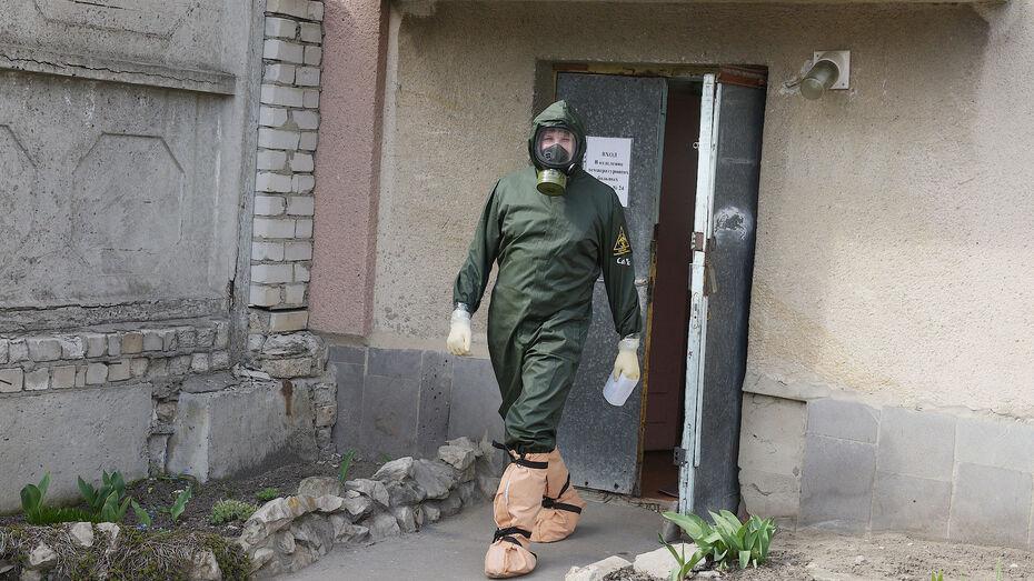 За сутки в Воронежской области от коронавируса скончались 20 человек