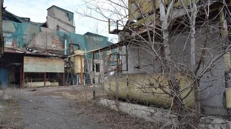 В Лисках на развалинах старого мясокомбината началось строительство крупного торгового центра