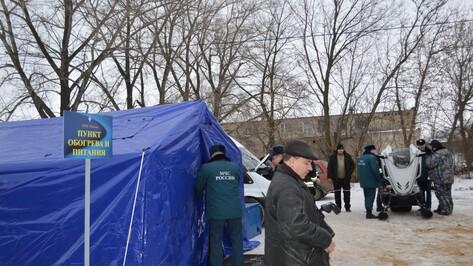 На трассе М4 «Дон» в Воронежской области начали работу пункты обогрева